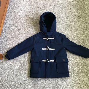 Gap Navy Wool Duffle Pea Coat